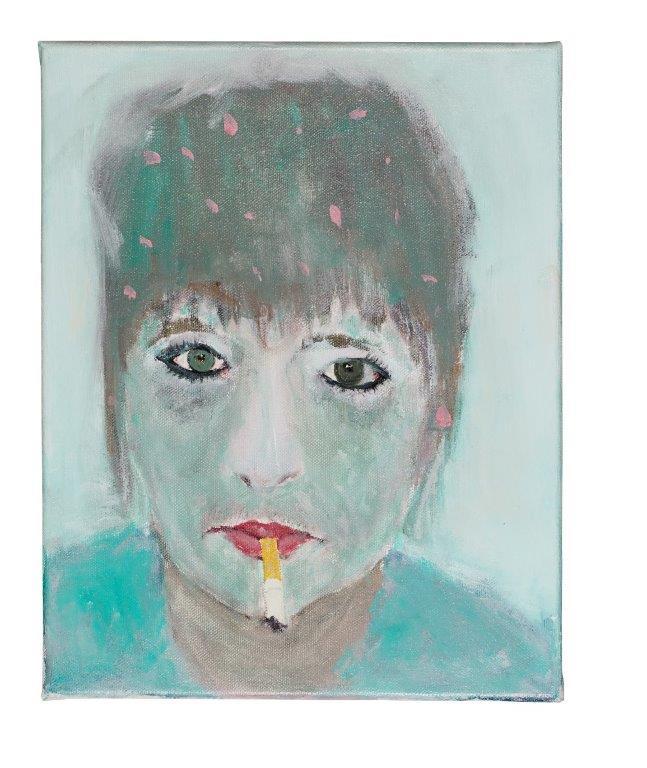 Lieke Tripaldelli - portretten - Sigaret
